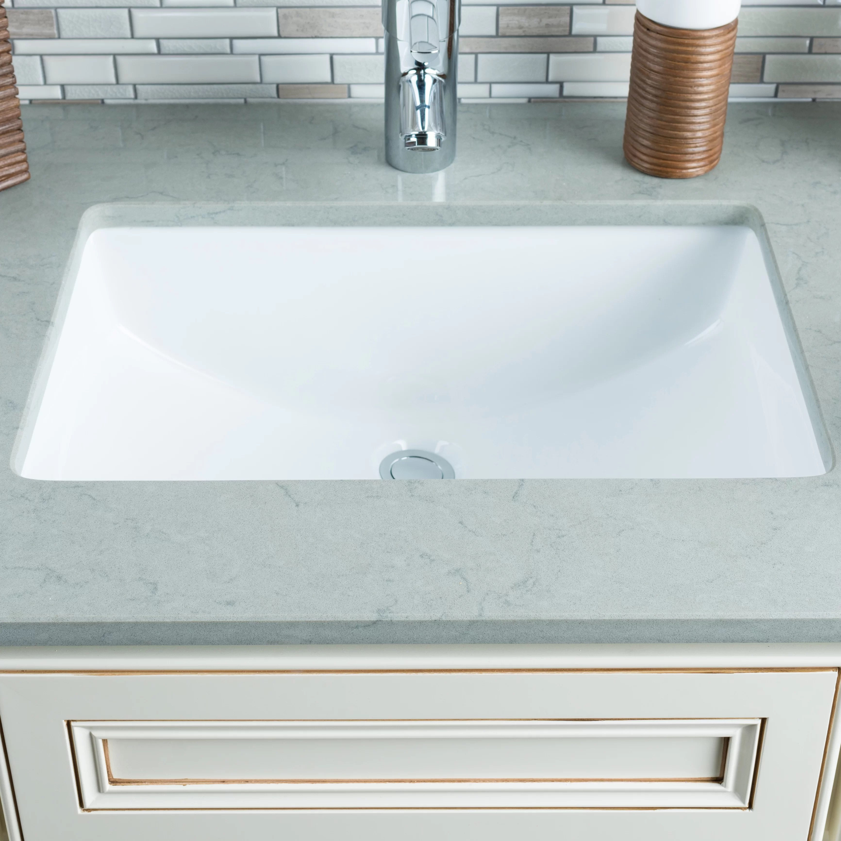 undermount bathroom sinks hahn kitchen sinks hahn ceramic bowl rectangular undermount bathroom sink with overflow