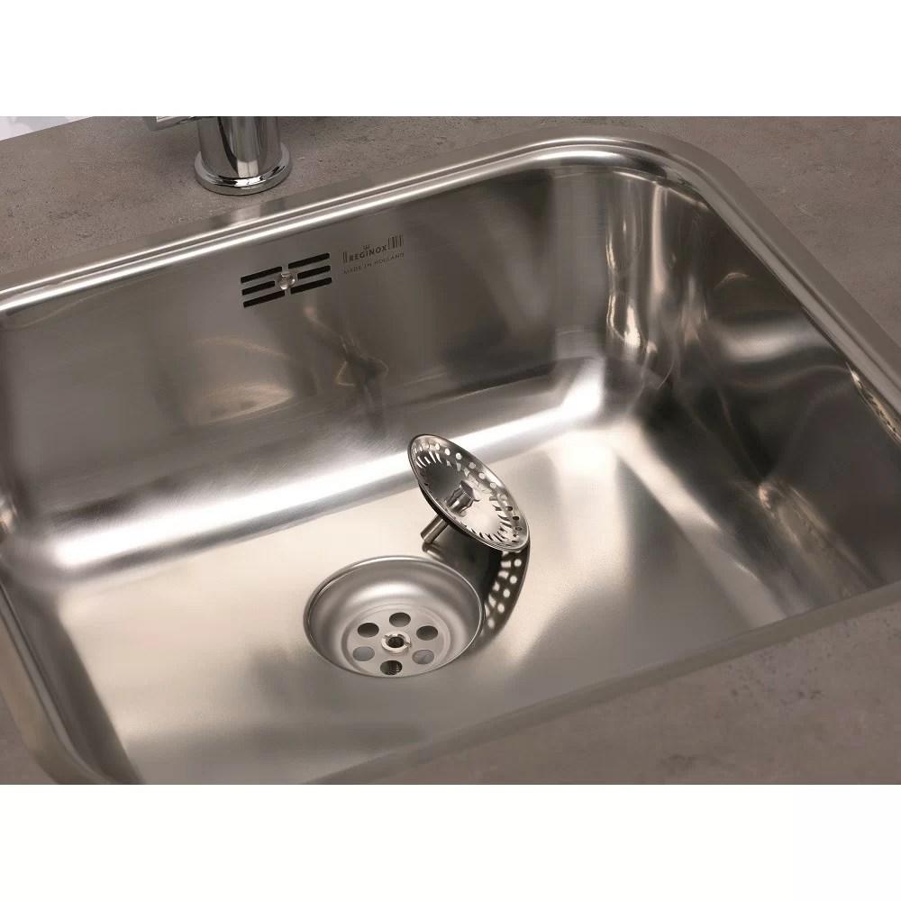 Reginox Chicago 60cm X 50cm Single Bowl Kitchen Sink
