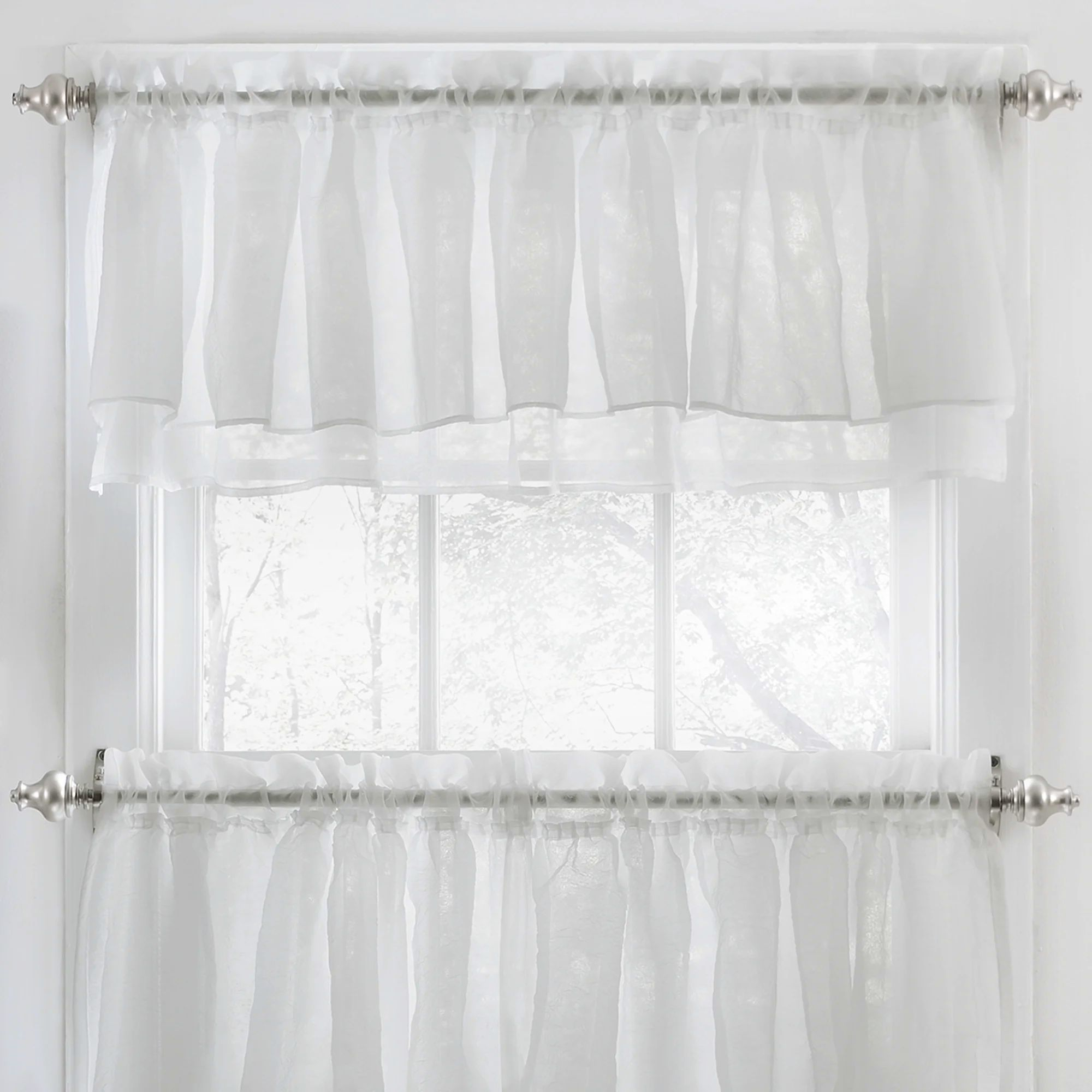 Black ruffle curtains - Download Wh White Ruffle Window Curtains