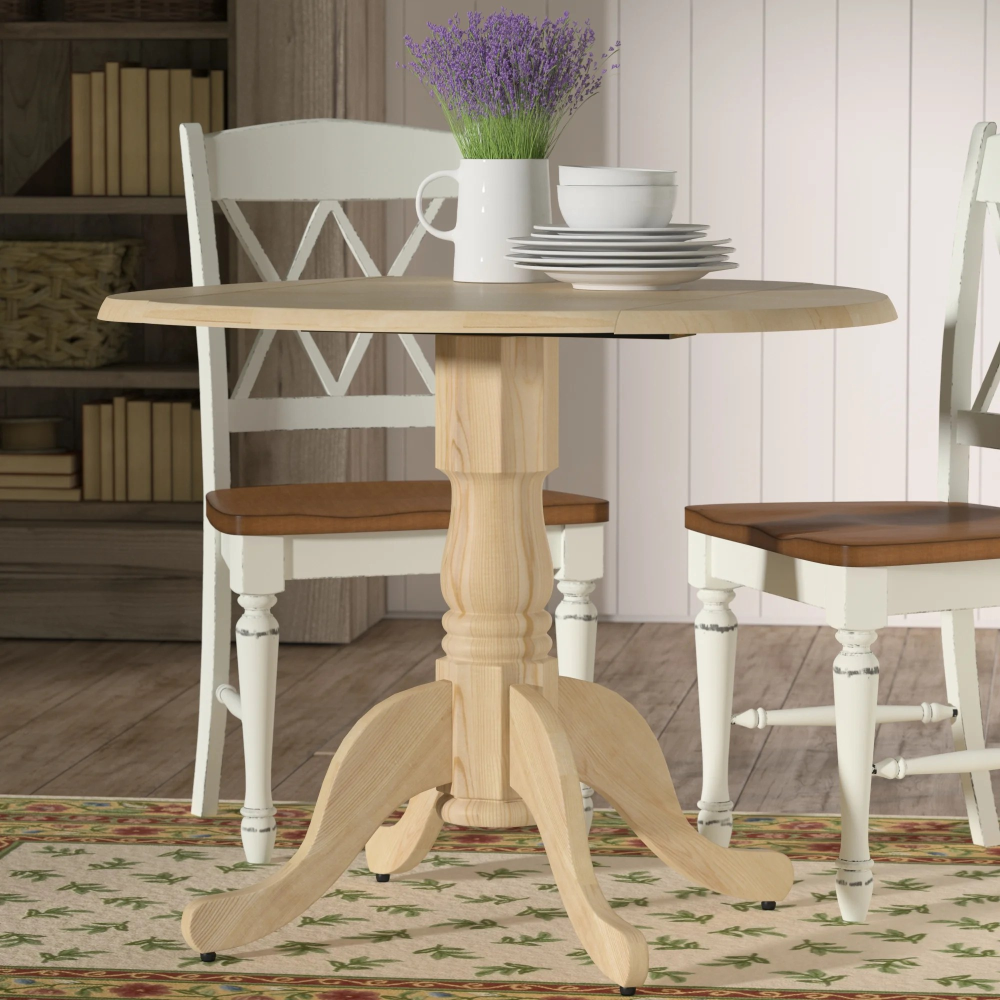 drop leaf kitchen dining tables c a~ drop leaf kitchen table Imogene Dining Table with Dual Drop Leaf