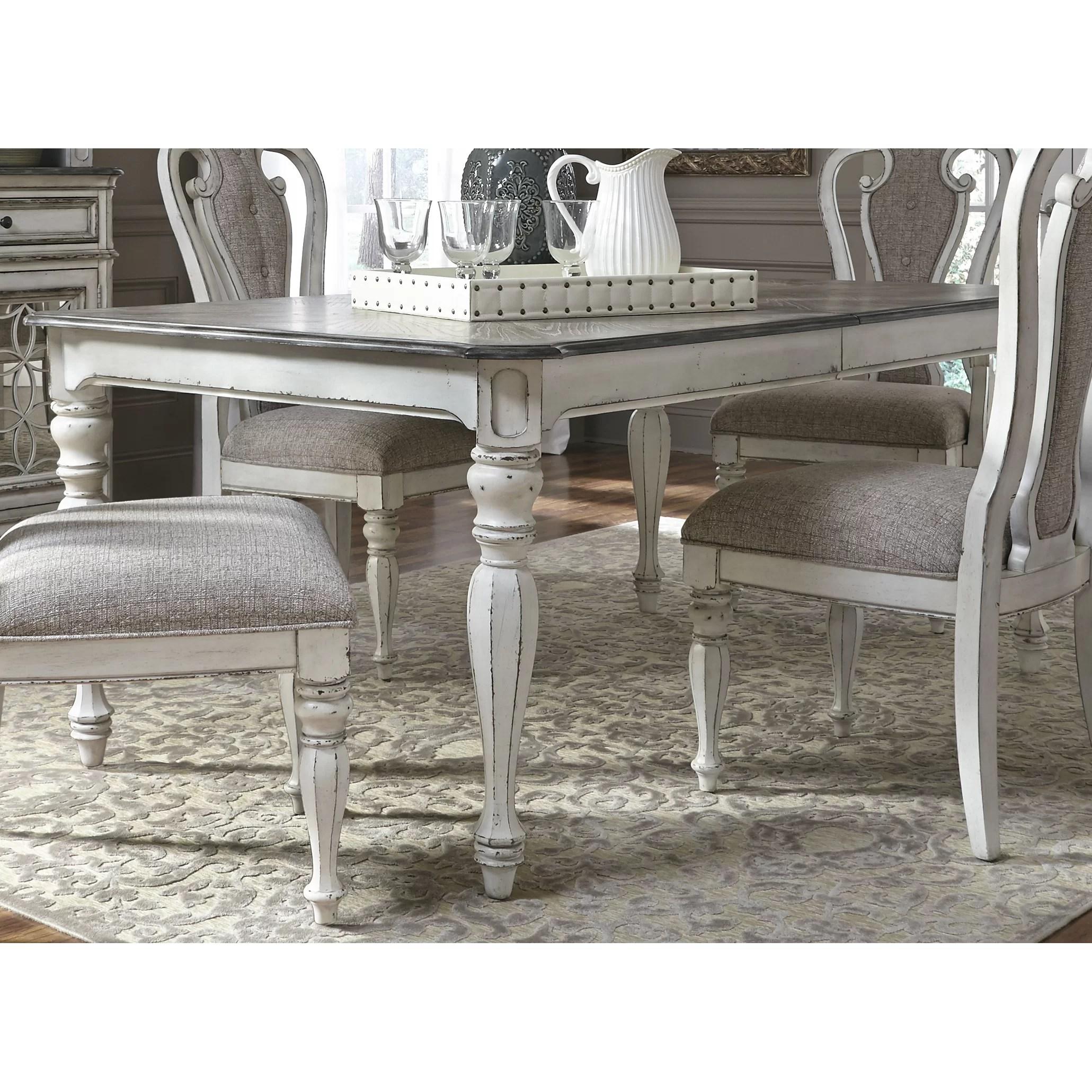 One Allium Way C2 AE Colette Extendable Dining Table OAWY gray kitchen table One Allium Way reg Colette Extendable Dining Table