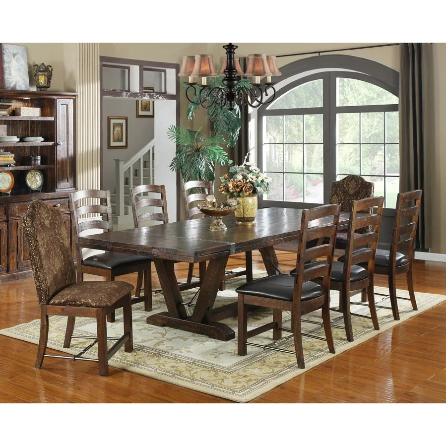 distressed kitchen dining tables c a~ white distressed kitchen table Waban Extendable Dining Table