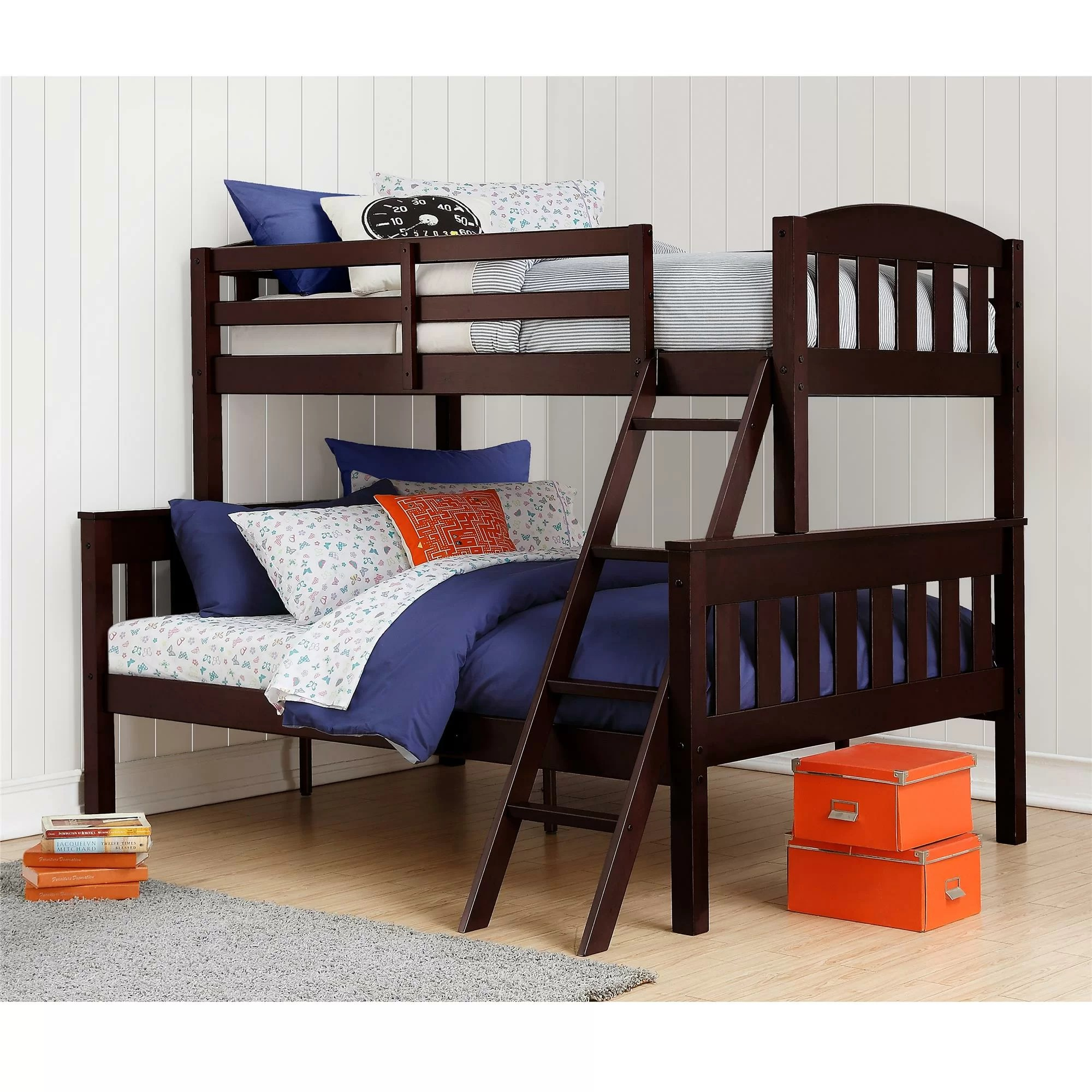 Cheap Bunk Beds Zoomie Kids Immanuel Twin Over Full Bunk Bed And Reviews