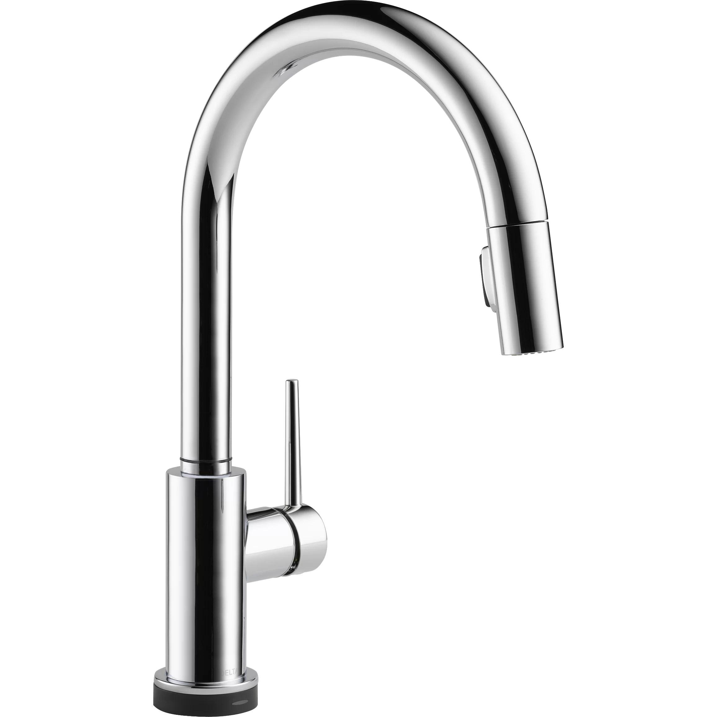 gooseneck kitchen faucets delta cassidy kitchen faucet Gooseneck Kitchen Faucets