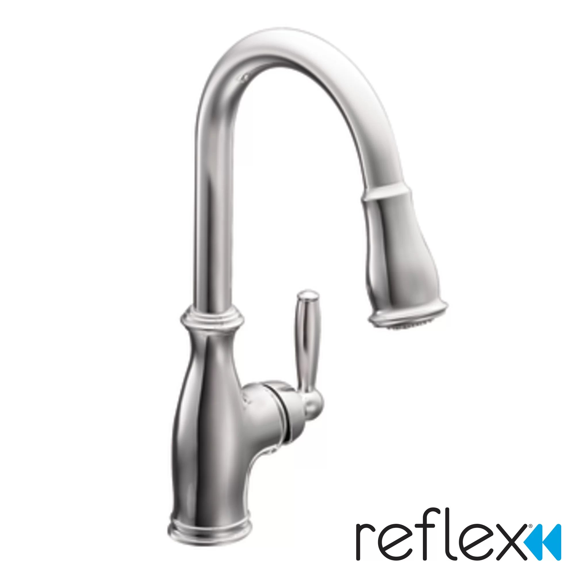 kitchen faucets c widespread kitchen faucet Brantford Single Handle Pull Down Kitchen Faucet
