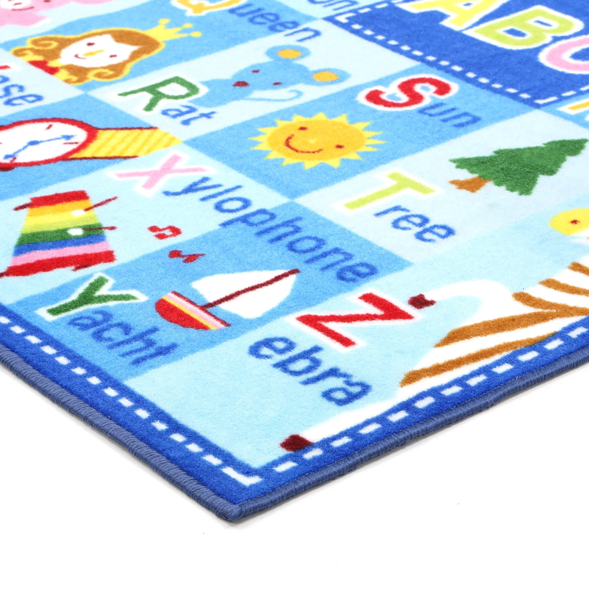 Fun Rugs Fun Time Letters And Names Area Rug Reviews