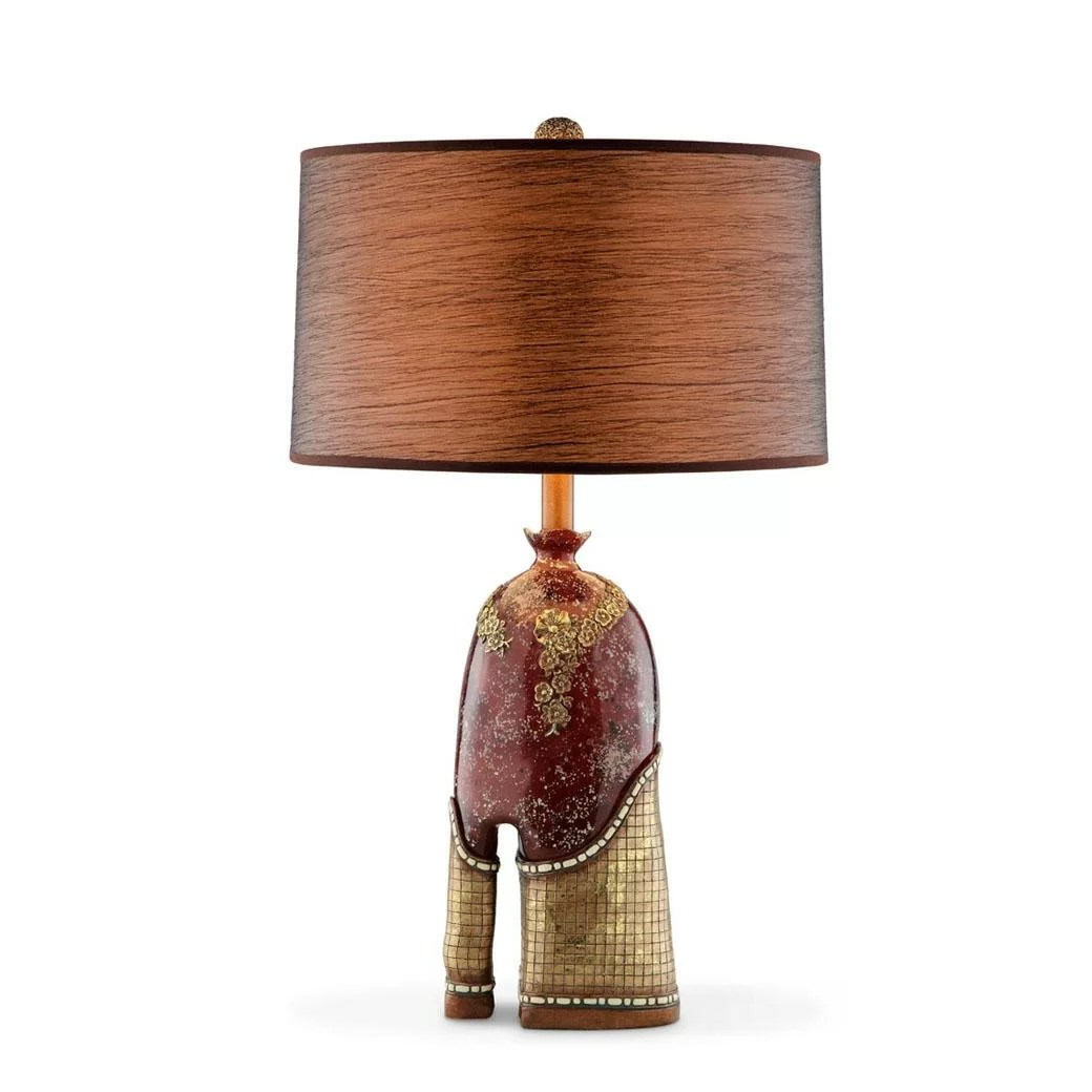 Crystal Stone Lamp Crystal Stone 29 Quot H Table Lamp With Drum Shade Wayfair