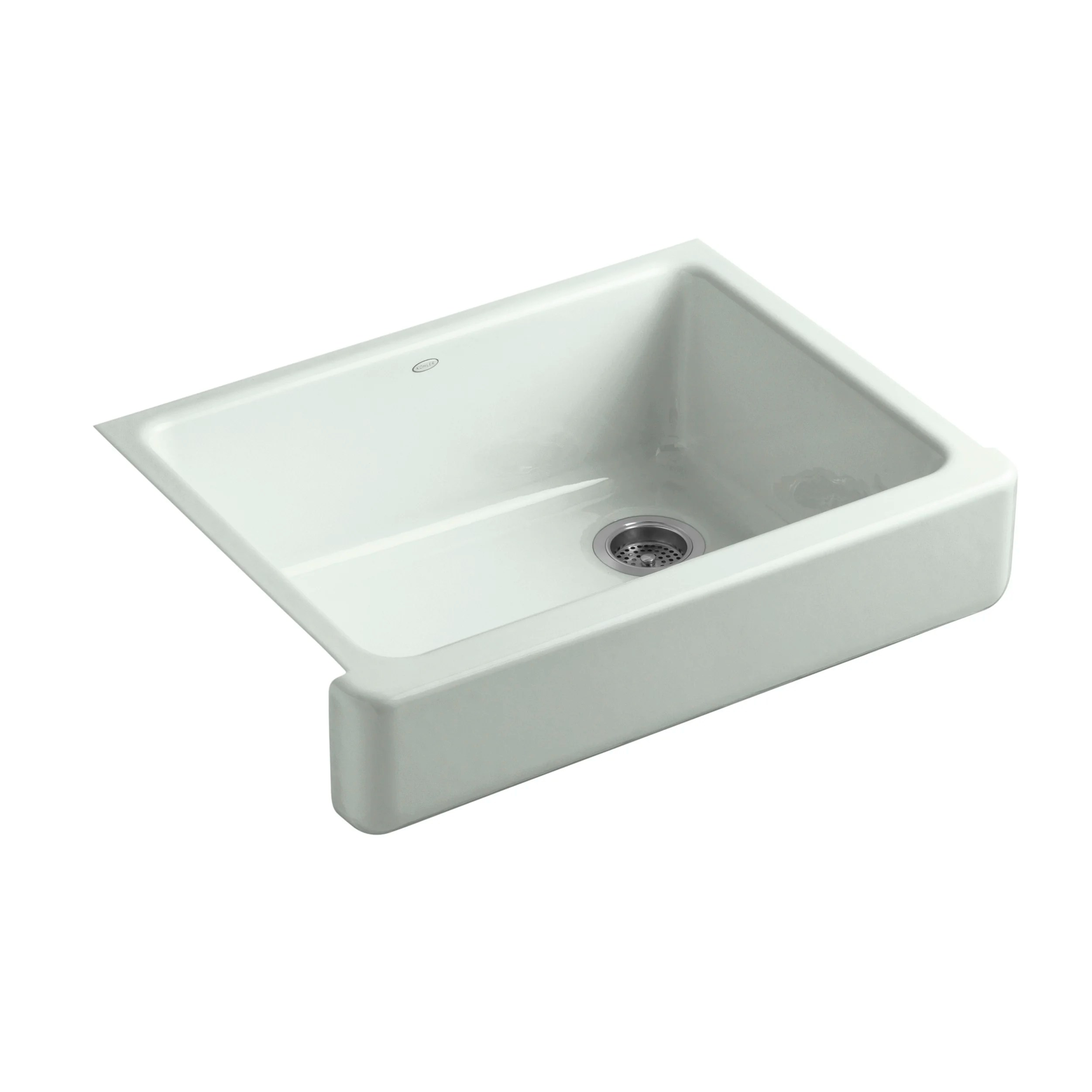 Kohler Whitehaven Farmhouse Sink Accessories Kohler Whitehaven Self Trimming 29 1 2 Quot X 21 9 16 Quot X 9 5 8
