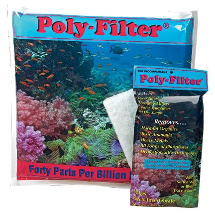LiveAquaria Approved Aquatic Supplies Poly Filters