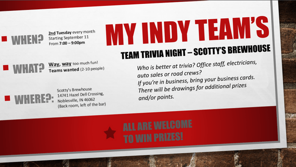 Trivia Night At Scotty39s Brewhouse In Noblesville Meetup