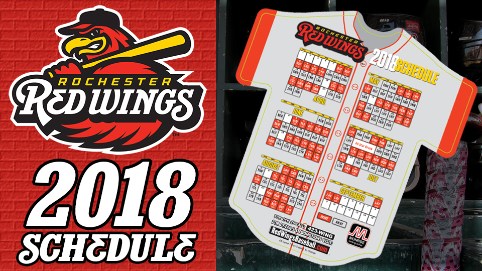 Red Wings Announce 2018 Schedule Rochester Red Wings News
