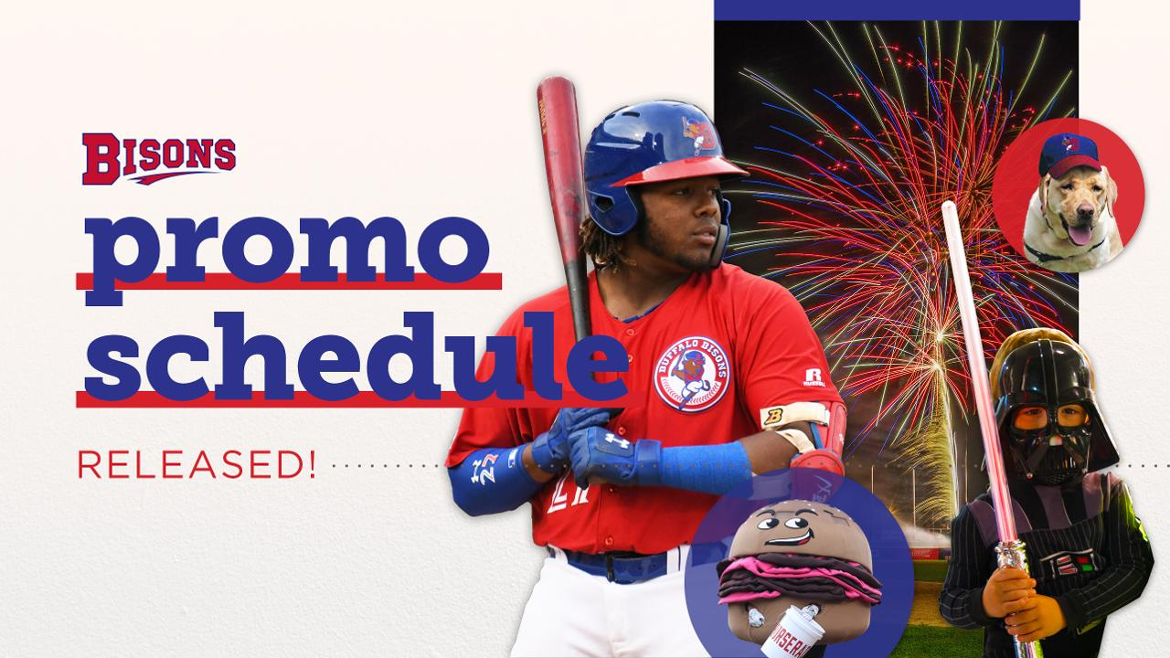 Star Wars Bettwäsche Bisons Announce 2019 Promotional Schedule Buffalo Bisons News