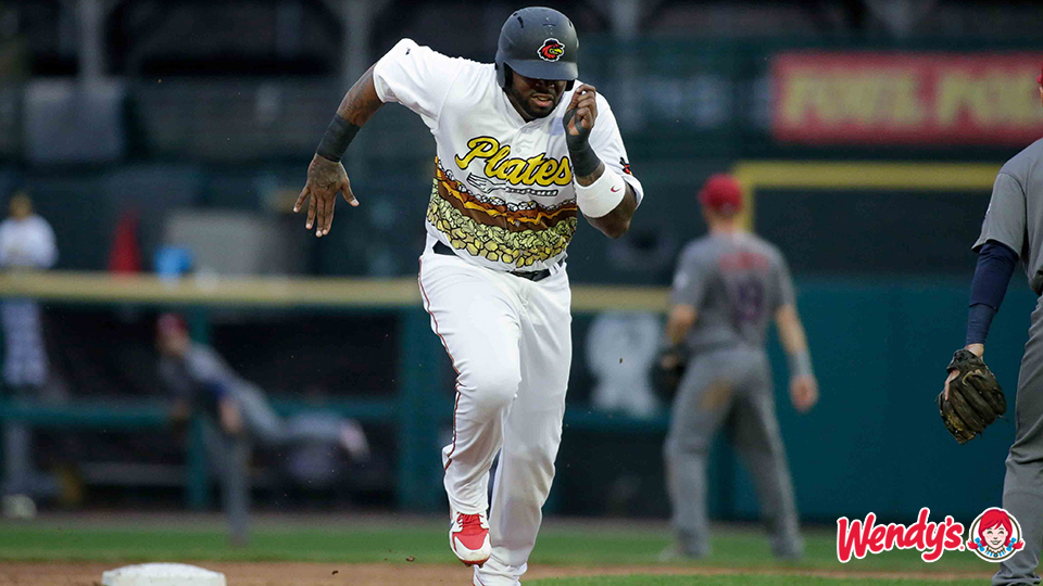 Plates beat Wings for first ever win Thursday! Rochester Red Wings