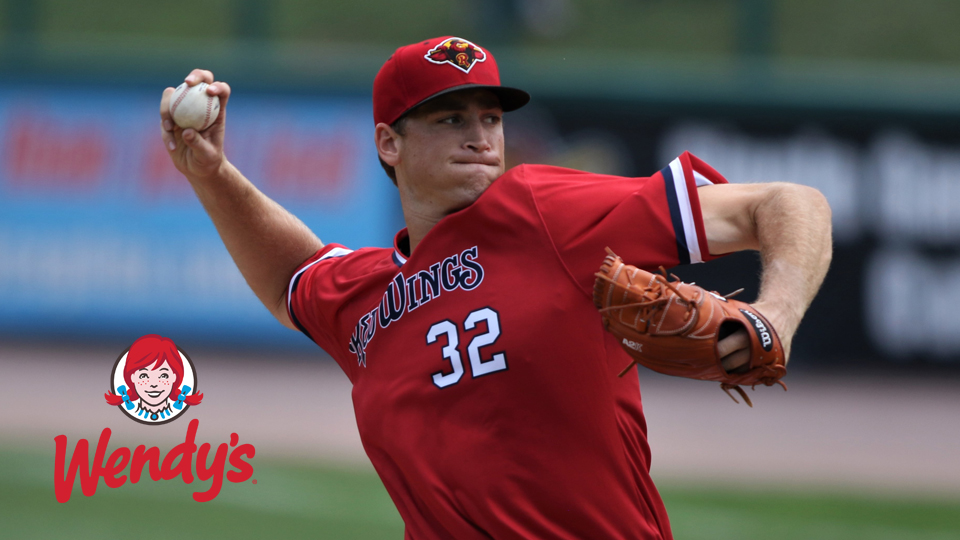 Slegers Pitches Wings to Third Straight Victory Rochester Red