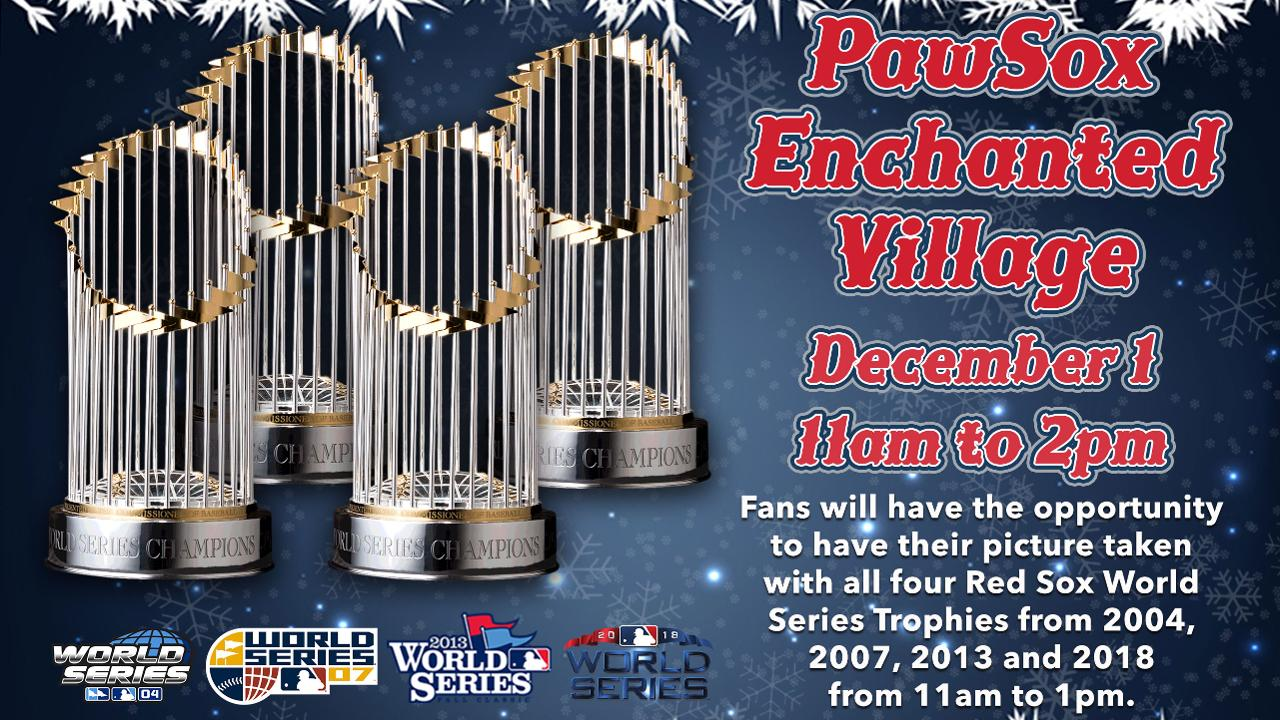 Pawsox To Host 4th Annual Enchanted Village Holiday Party