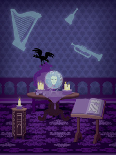 Haunted Mansion Iphone Wallpaper Madame Leota In The Haunted Mansion Disney Parks Blog