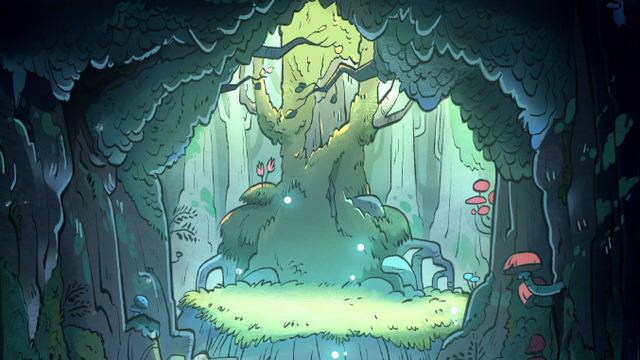 Gravity Falls Landscapes Wallpaper הכלבו ל Oc רקעים מסדרה גרוויטי פולס עיר הספרים ספר