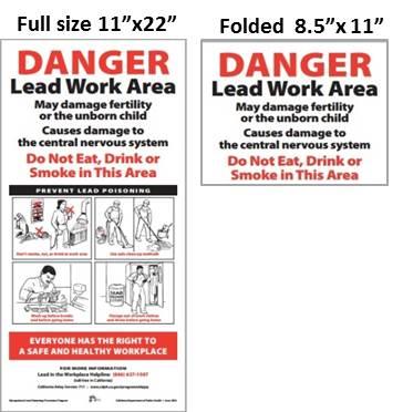 Lead Warning Signs Online Order Form Survey