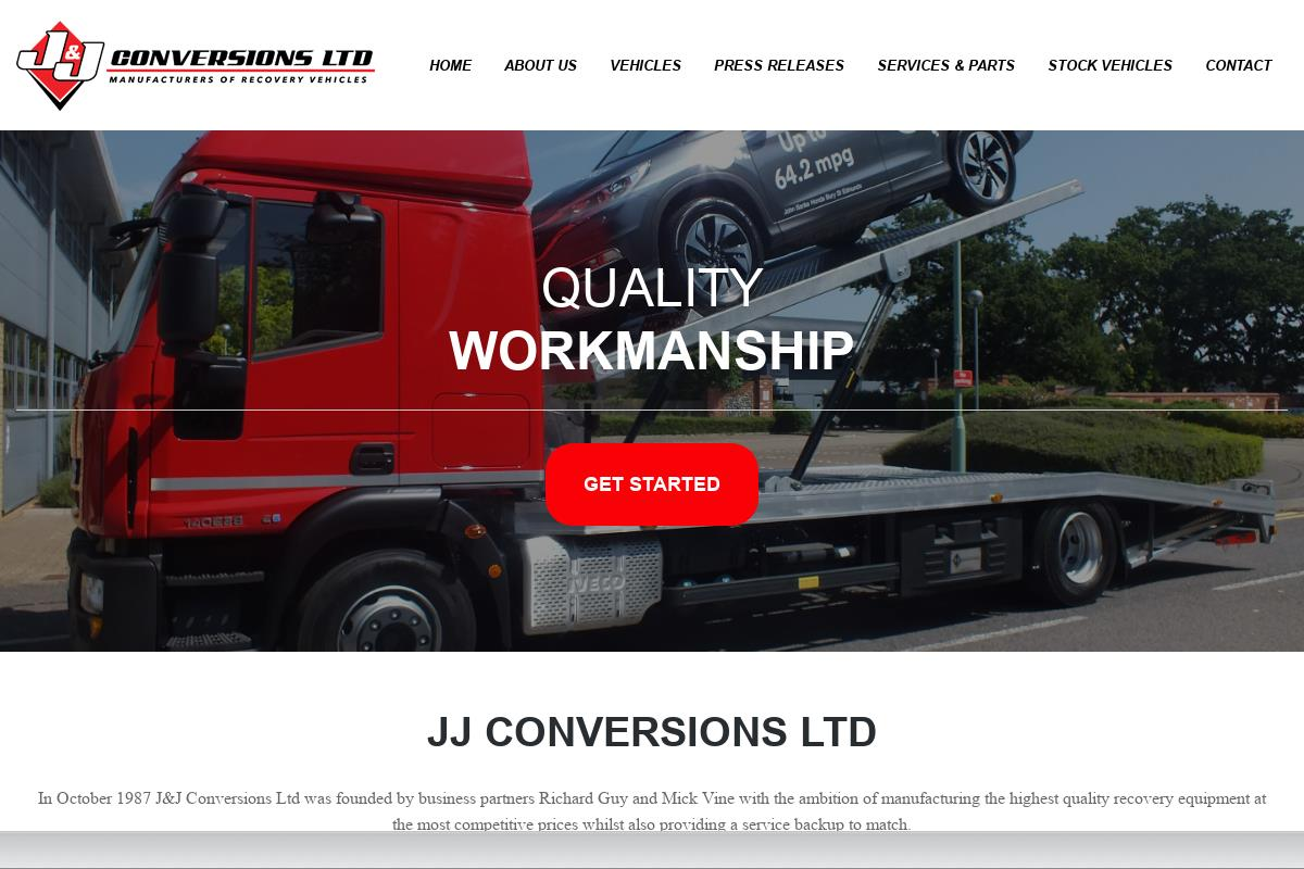 Vehicle Manufacturers In The Uk Recovery Vehicles Manufacturer J J Conversions Ltd