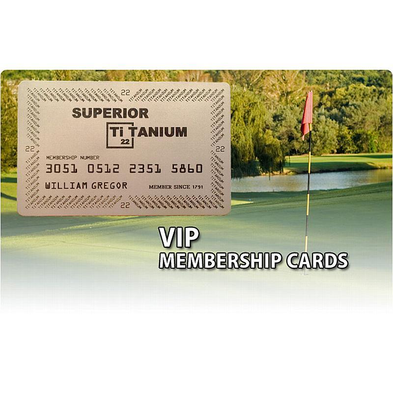 Titanium Business Cards by Superior Titanium Products, Inc