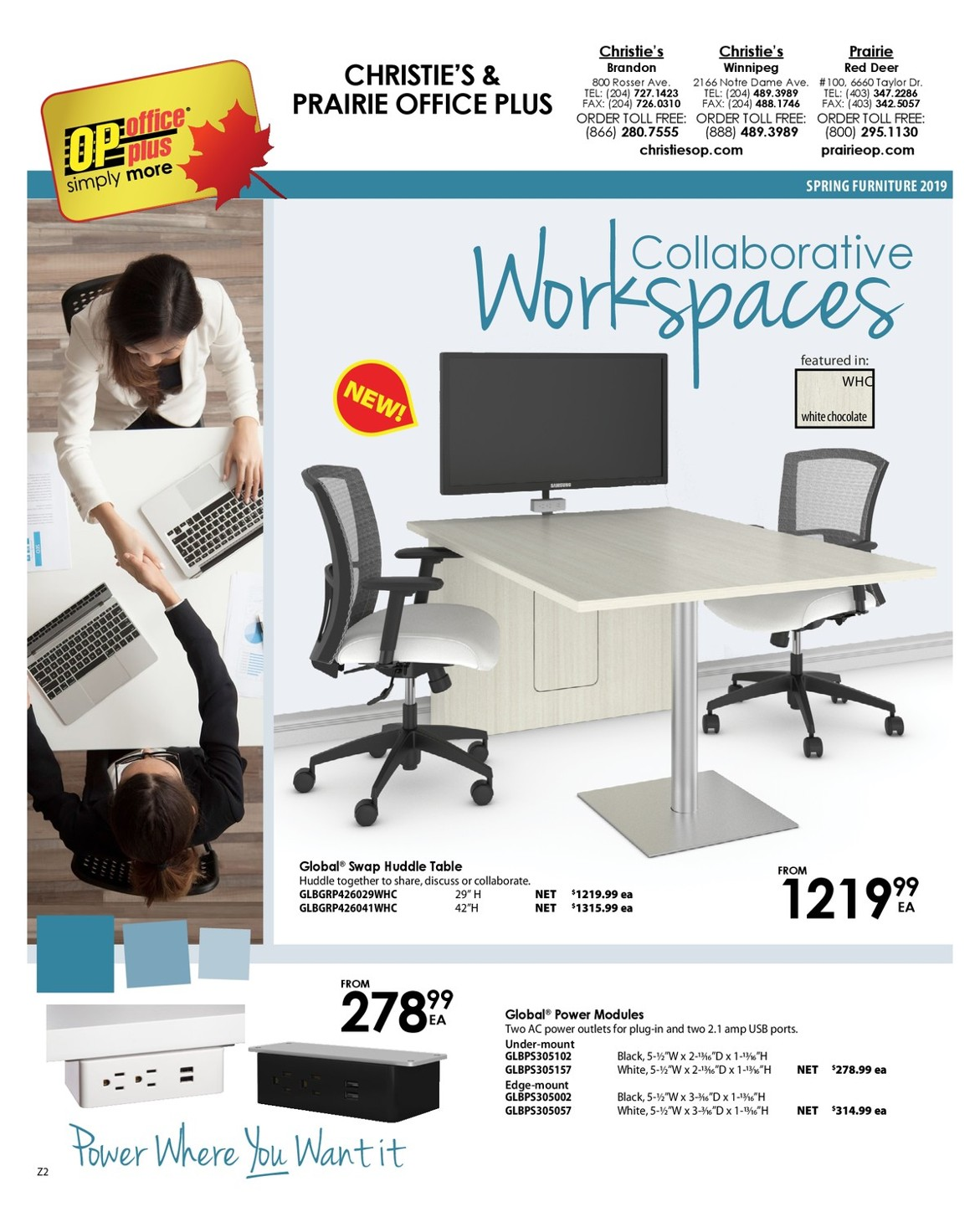 Office Chairs Winnipeg Furniture Flyer Christie S Office Plus Head Office