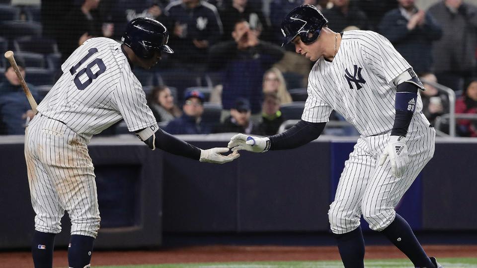 Yankees led by Didi Gregorius, Aaron Judge MLB - fresh baseball training blueprint