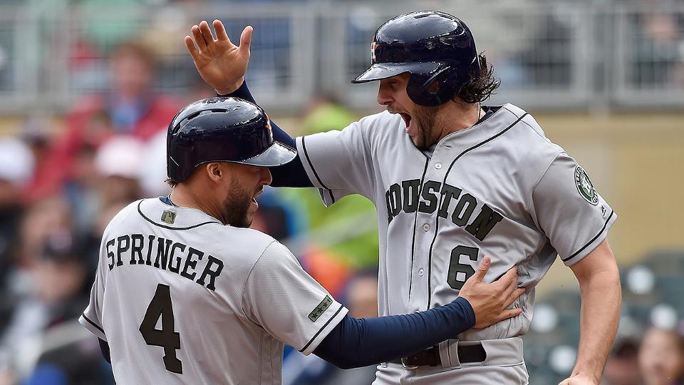 Houston Astros make improbable late comeback Houston Astros