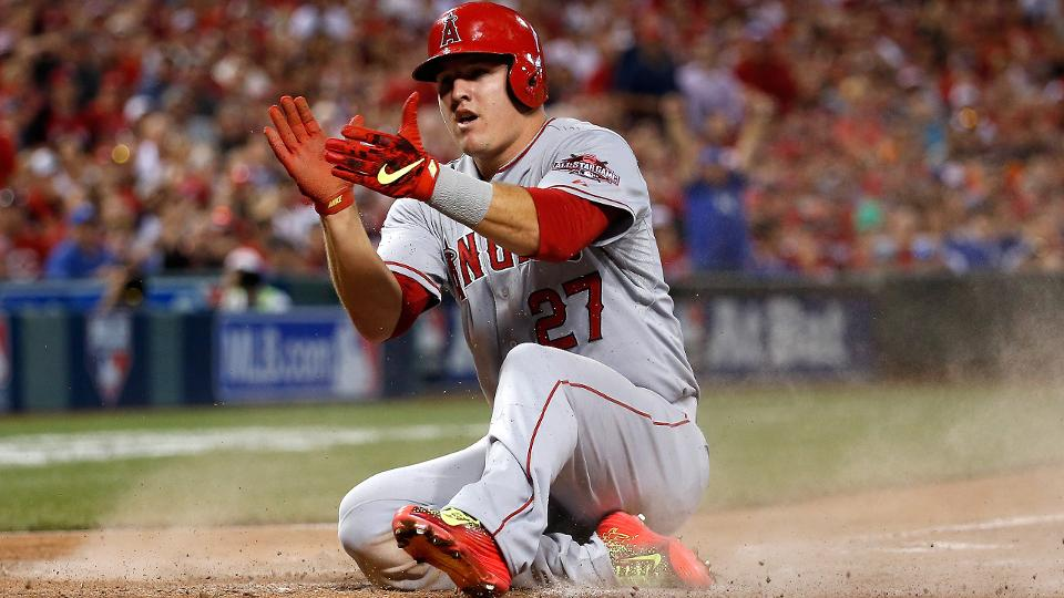 Mike Trout won back-to-back All-Star Game MVPs Los Angeles Angels