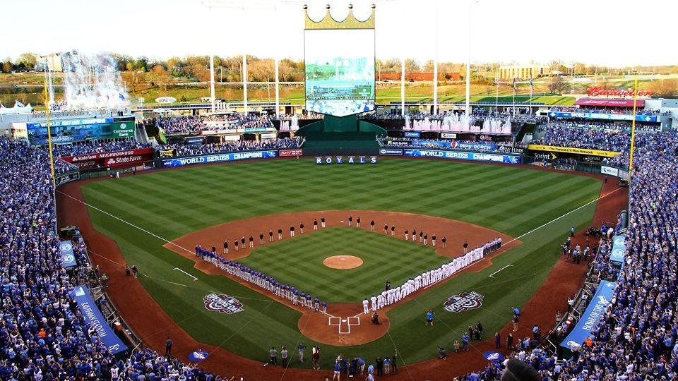 Royals host Pitch, Hit  Run at Kauffman Kansas City Royals