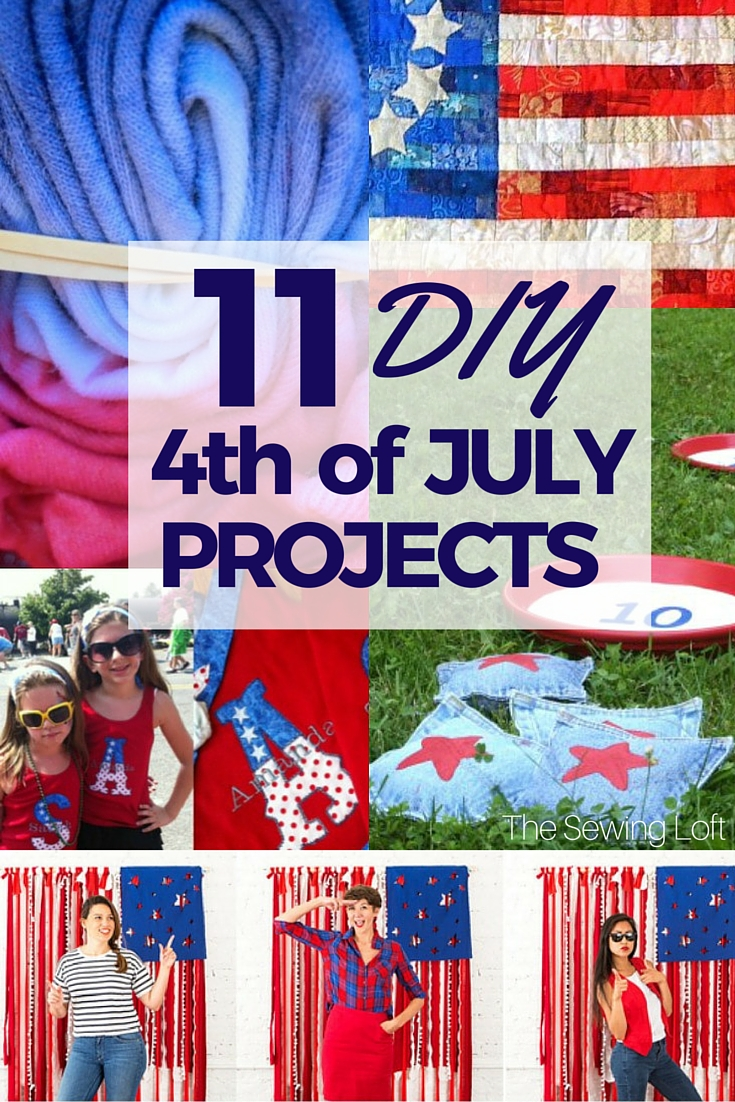 11 Easy Diy Projects For 4th Of July The Sewing Loft
