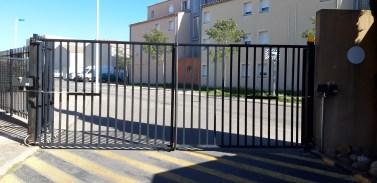 Installation d'un automatisme pour le portail d'une gendarmerie