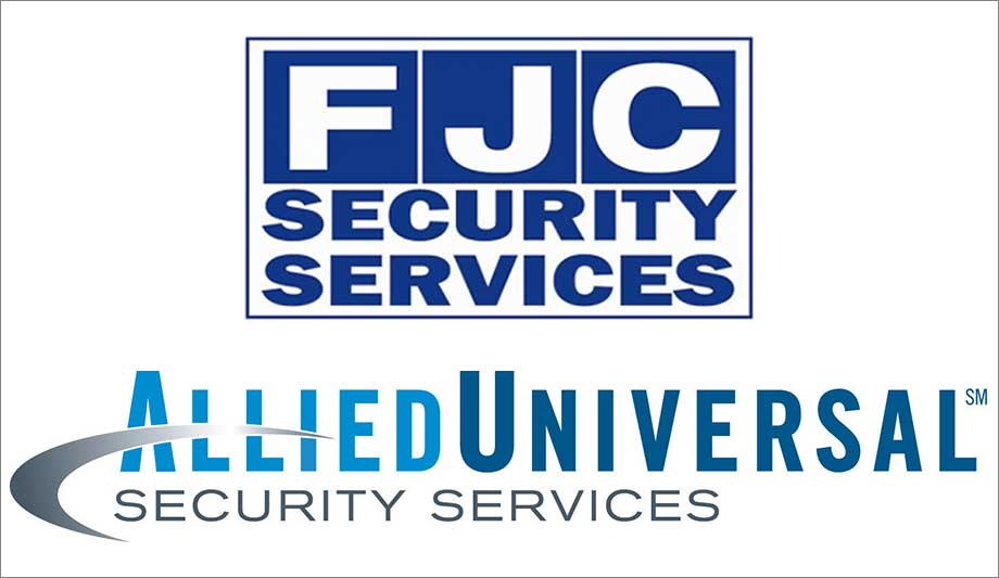 Allied Universal buys FJC Security Security News - allied barton security service