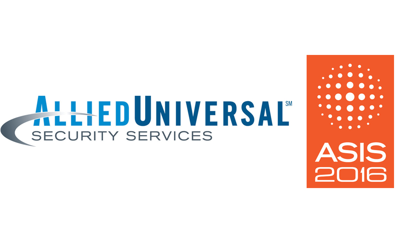 Allied Universal officers and robots secure ASIS 2016 Security - allied barton security service
