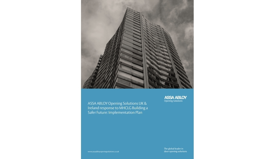 ASSA ABLOY releases an implementation plan whitepaper Security