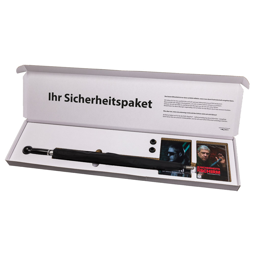 Sicher Safe Security Package No 3 Men Umbrella