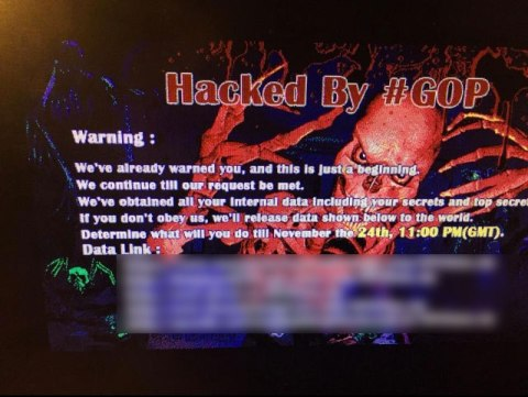 sony pictures hacked