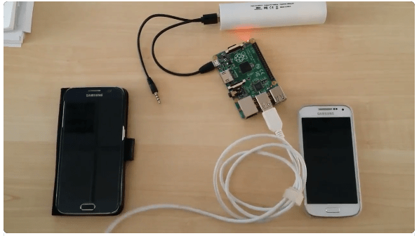 Samsung Galaxy hack via USB