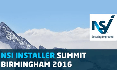 NSI Installer Summit 2016 – 10th March Birmingham