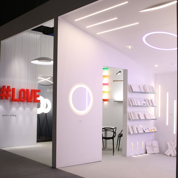 "Applique Exterieur Detection Atelier Sedap - Lighting – Galerie ""light+building 2018"""