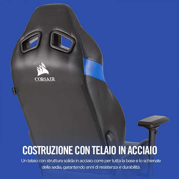 Corsair T2 Road Warrior Sedia Gaming Com - Sedia Gaming Corsair