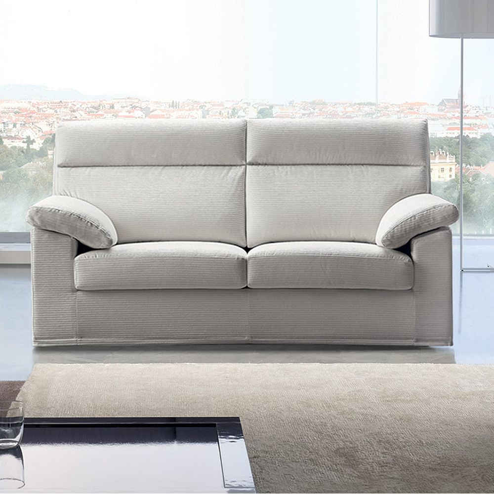 Dandy Sofa With High Backrest Totally Removable Covering - Divano 2 Posti Maxi