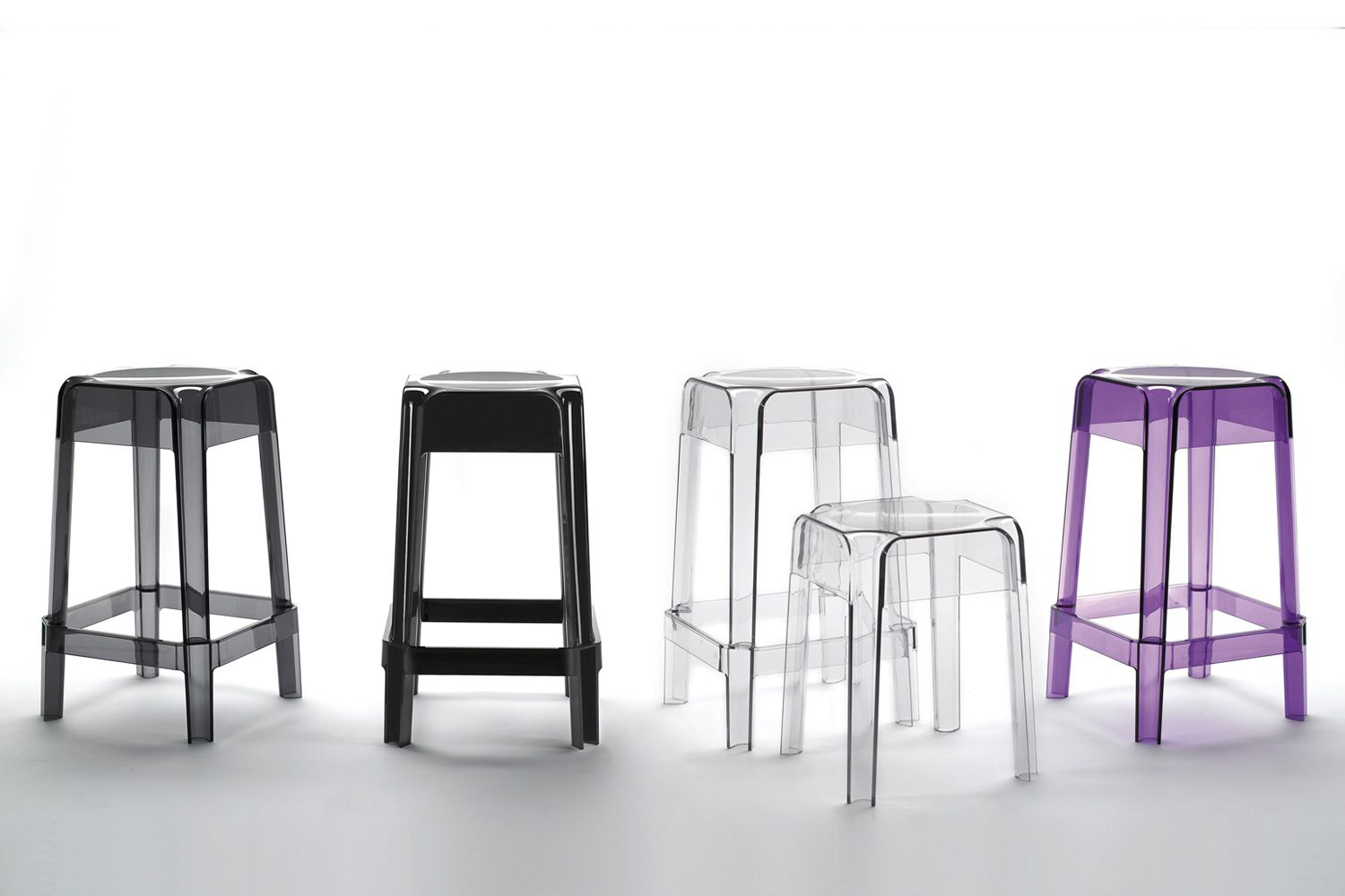 Tabourets De Bar Polycarbonate Rubik 580 Pour Bars Et Restaurants Tabouret De Bar En