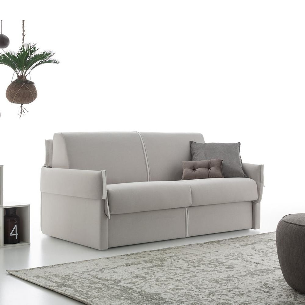 Hugo 2 Maxi Seater Sofa Bed Totally Removable Covering - Divano 2 Posti Maxi