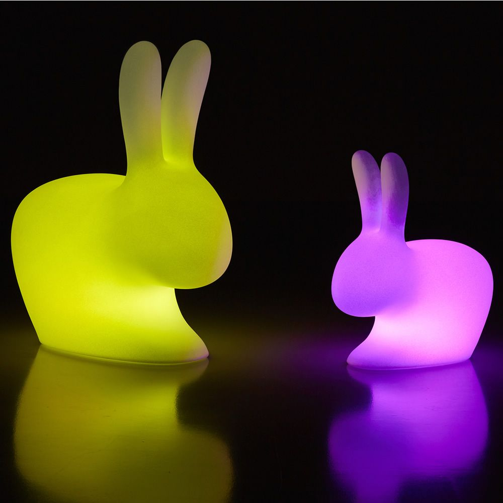 Lampe A Poser Led Rabbit Lamp Outdoor Led - Lampe á Poser Qeeboo En Forme De