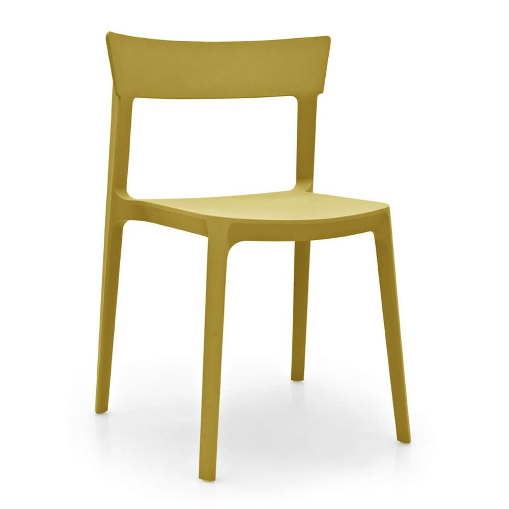 Cs1391 Skin Bar Chair In Polypropylene Stackable Available In - Sedie Calligaris Negozio