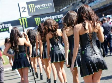 Paddock Girls : The most beautiful girls in racing