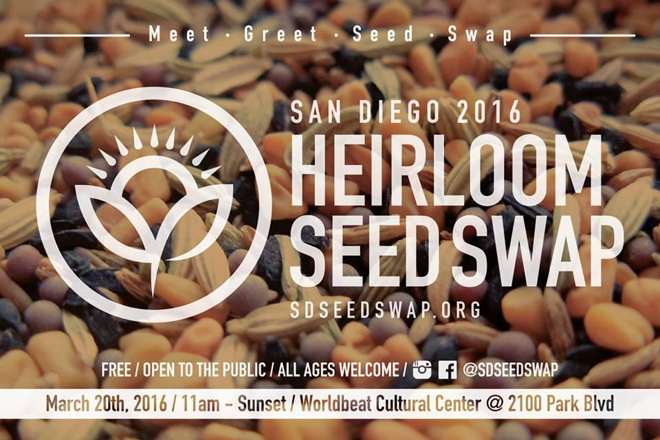 1St Annual San Diego Heirloom Seed Swap - Seed Freedom