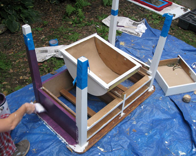 process purple table horizontal