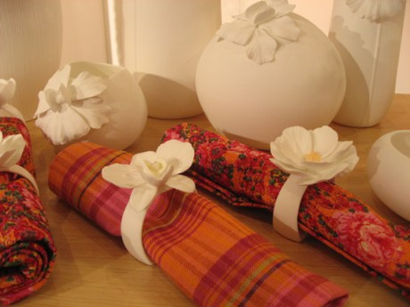 bone china napkin rings