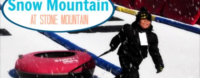 Snow Mountain At Stone Mounatin